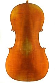 German trade cello back C.1900