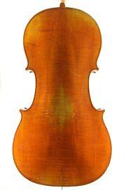 German trade cello back C.1900