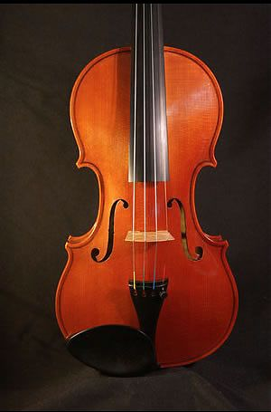 new violin based on Stradivari