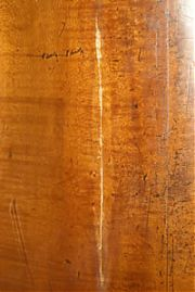 Cello crack repair - Edward Gaut Violins - Bristol UK
