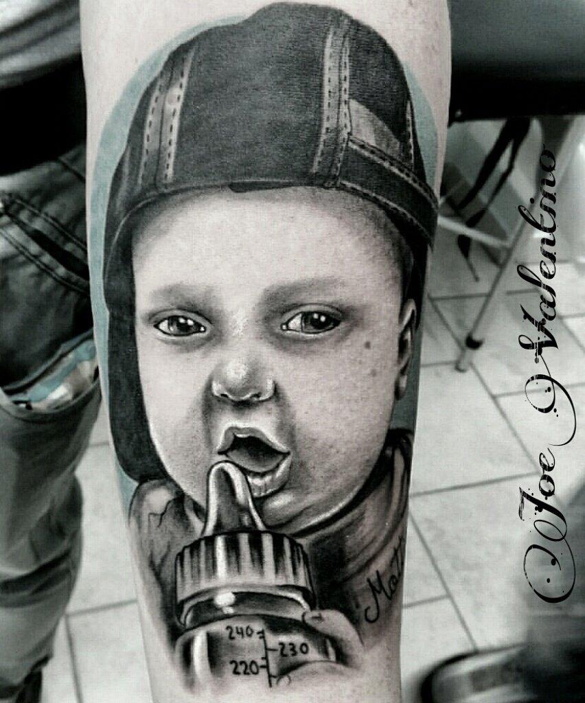 tatuaggio bambino rapper