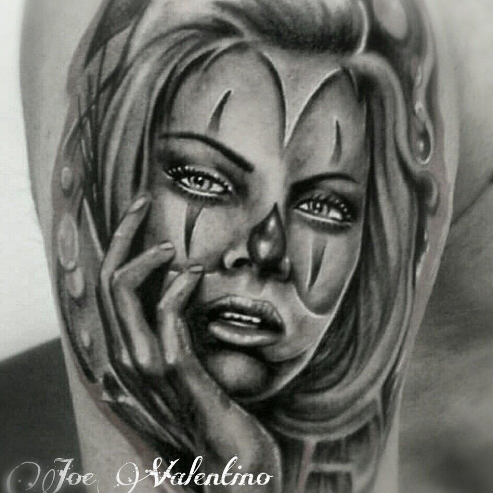 tatuaggio donna Joe Valentino