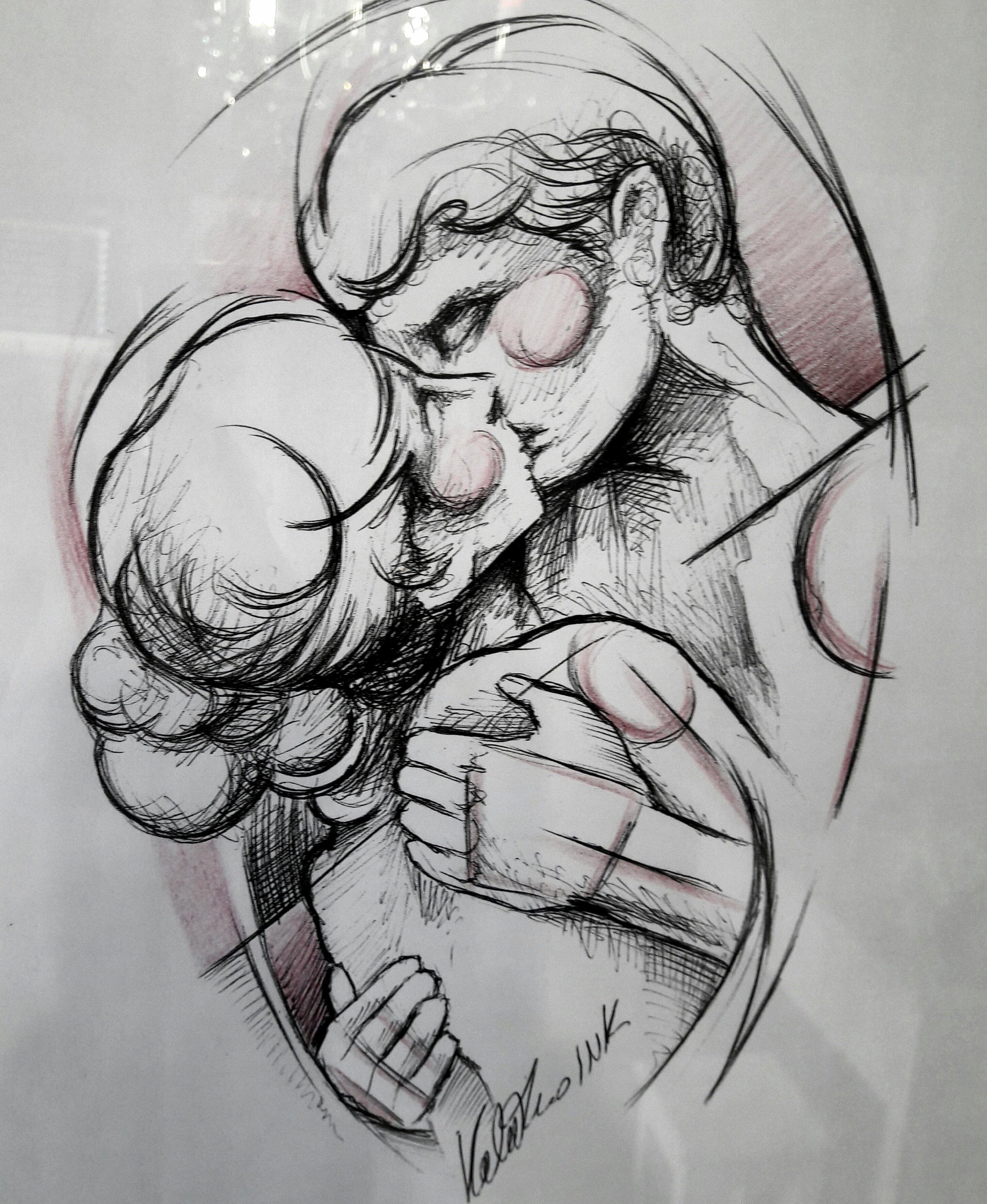 tatuaggi disegnati dal cliente