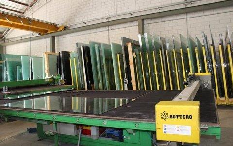Lavorazione vetro - Targetti Vetri Prato