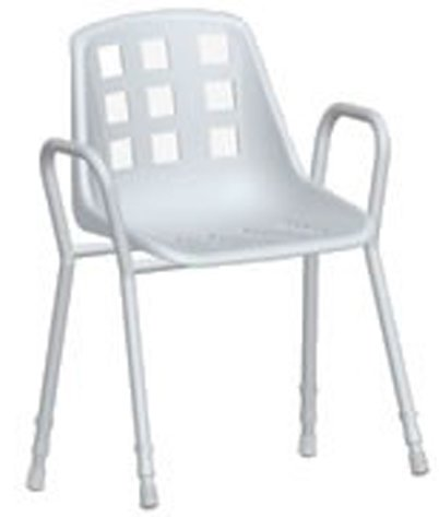 Shower Chair Rounded Arms