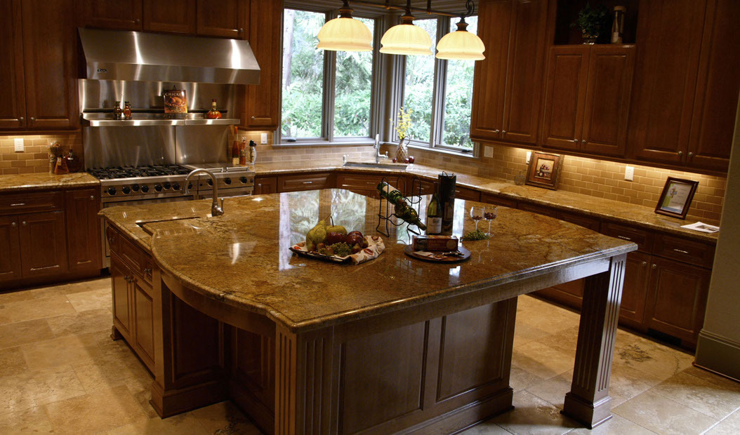 Kitchen photos by countertop solutions earth art slab for Kitchen in the canyon
