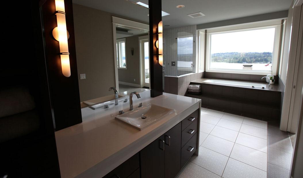 Granite Bathroom Countertops Custom Design