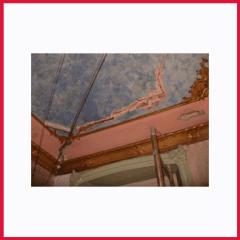 Consolidamento Crepe nel soffitto