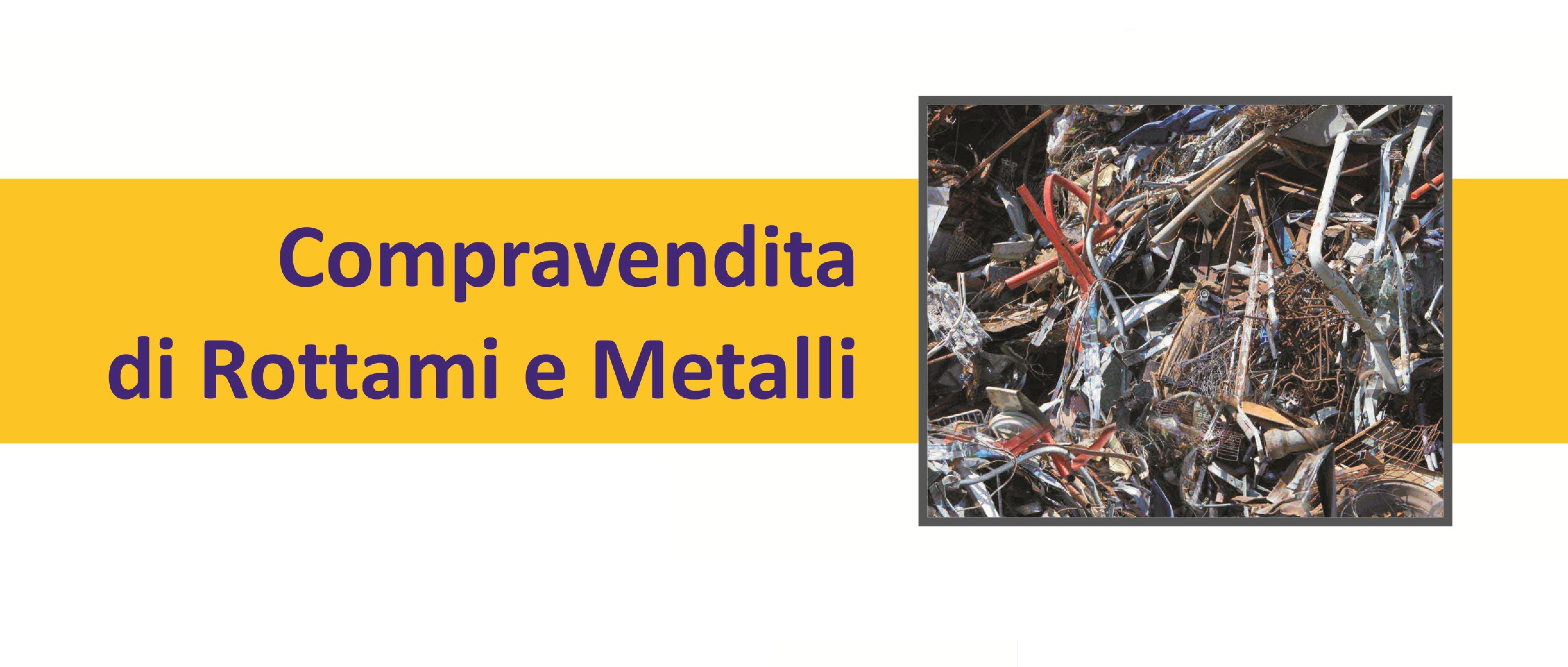 compravendita di rottami e metalli