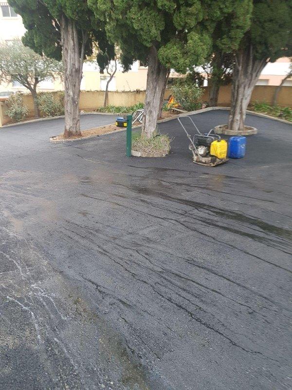 costruzione di strade