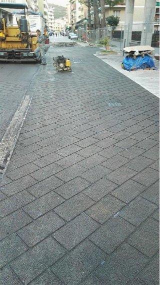 manutenzione straordinaria di strade