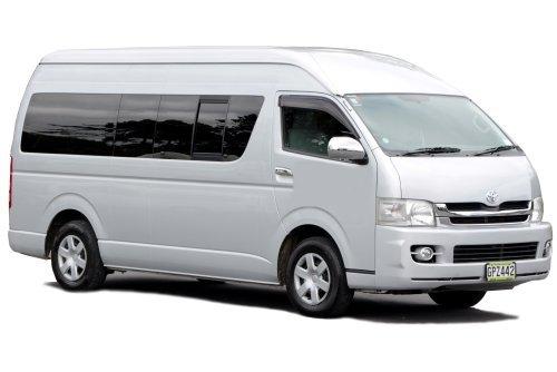 View of a mini van for rental