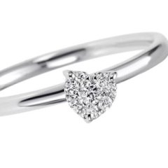 anelli oro bianco