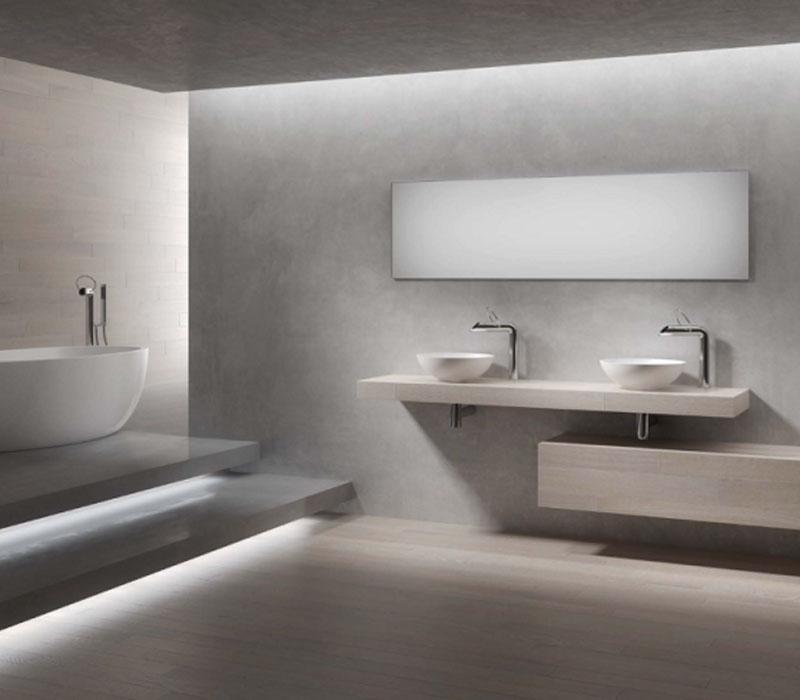Intesa parquet - Progetto-bagno