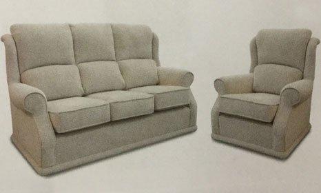beige living room suite