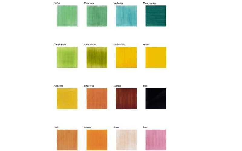 Ceramiche vari colori