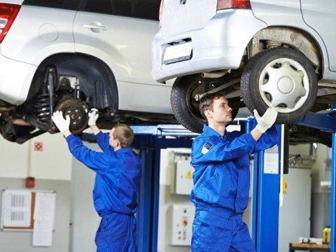 riparazione gomme su autoveicoli