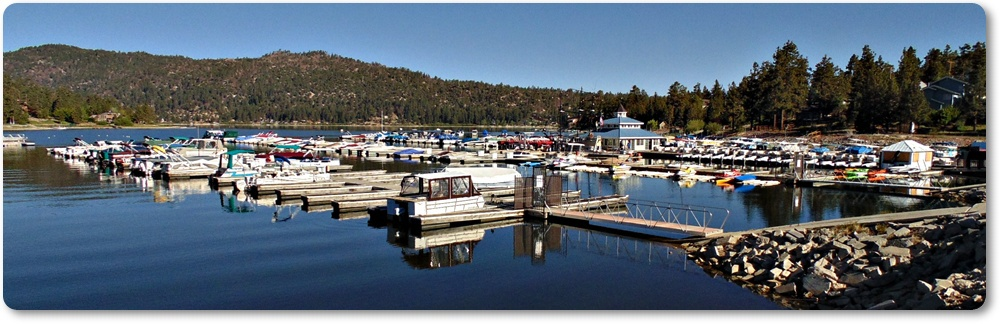 Big Bear Boat Marina at Holloway's Marina and RV Park