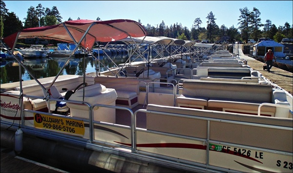 BIG BEAR LAKE PONTOON RENTAL