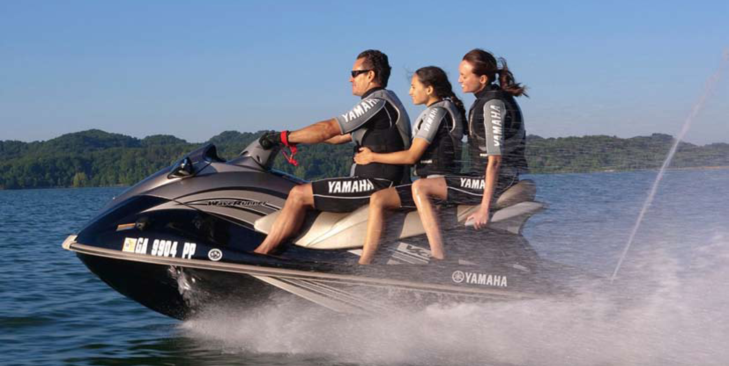 3 person jet ski and waverunner rentals Big Bear Lake at North Shore Landing