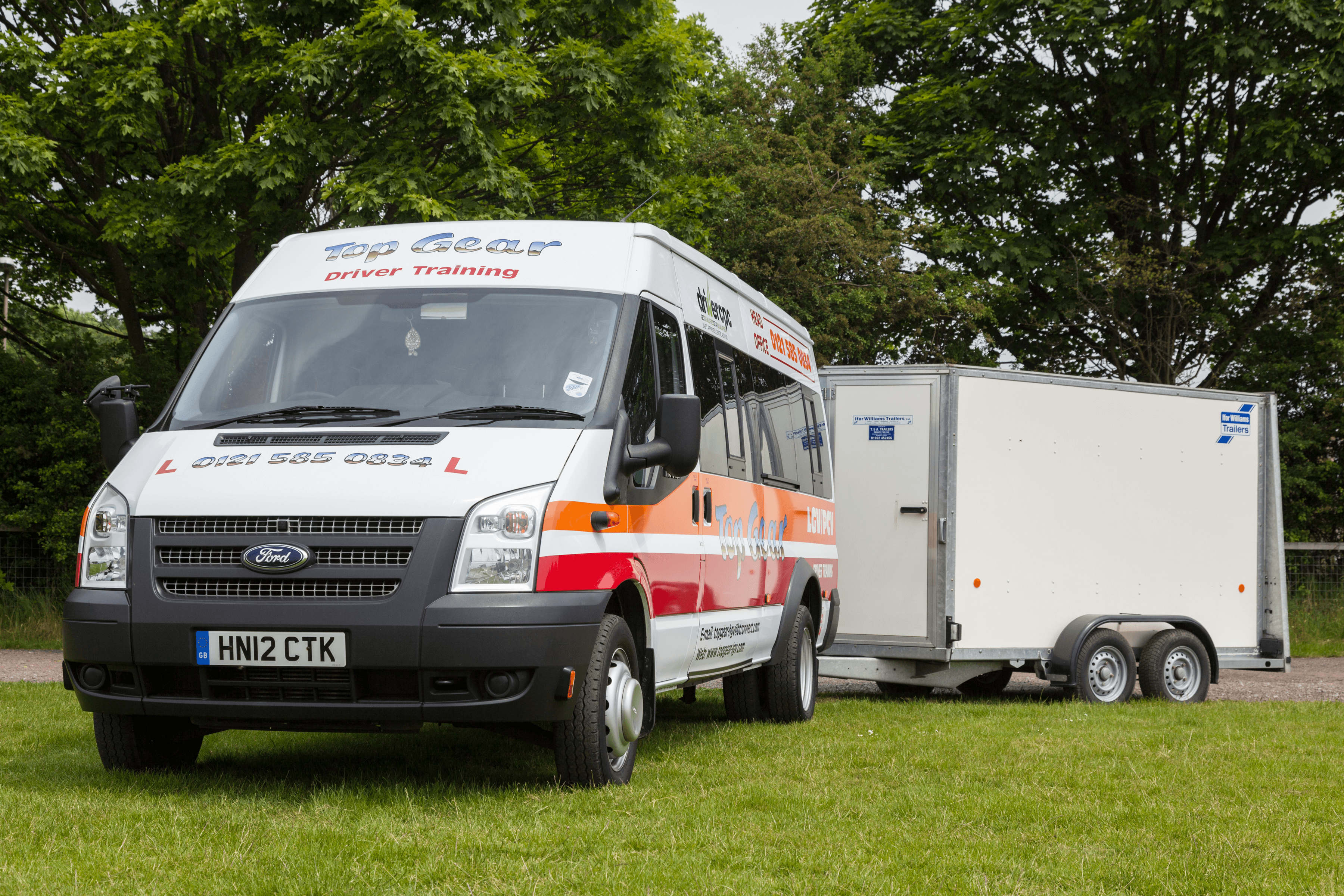 Ford Transit & trailer