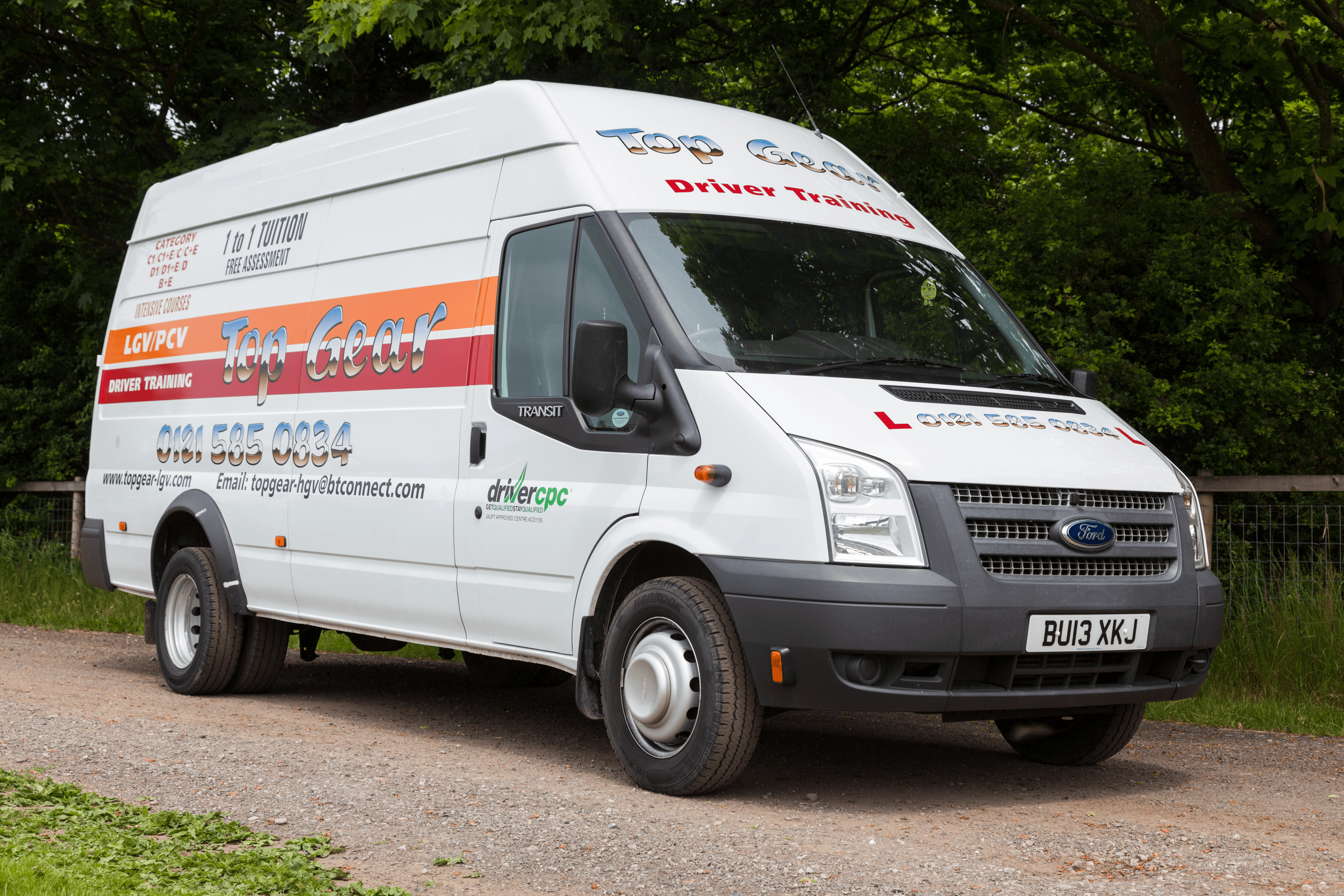 Top Gear Ford Transit