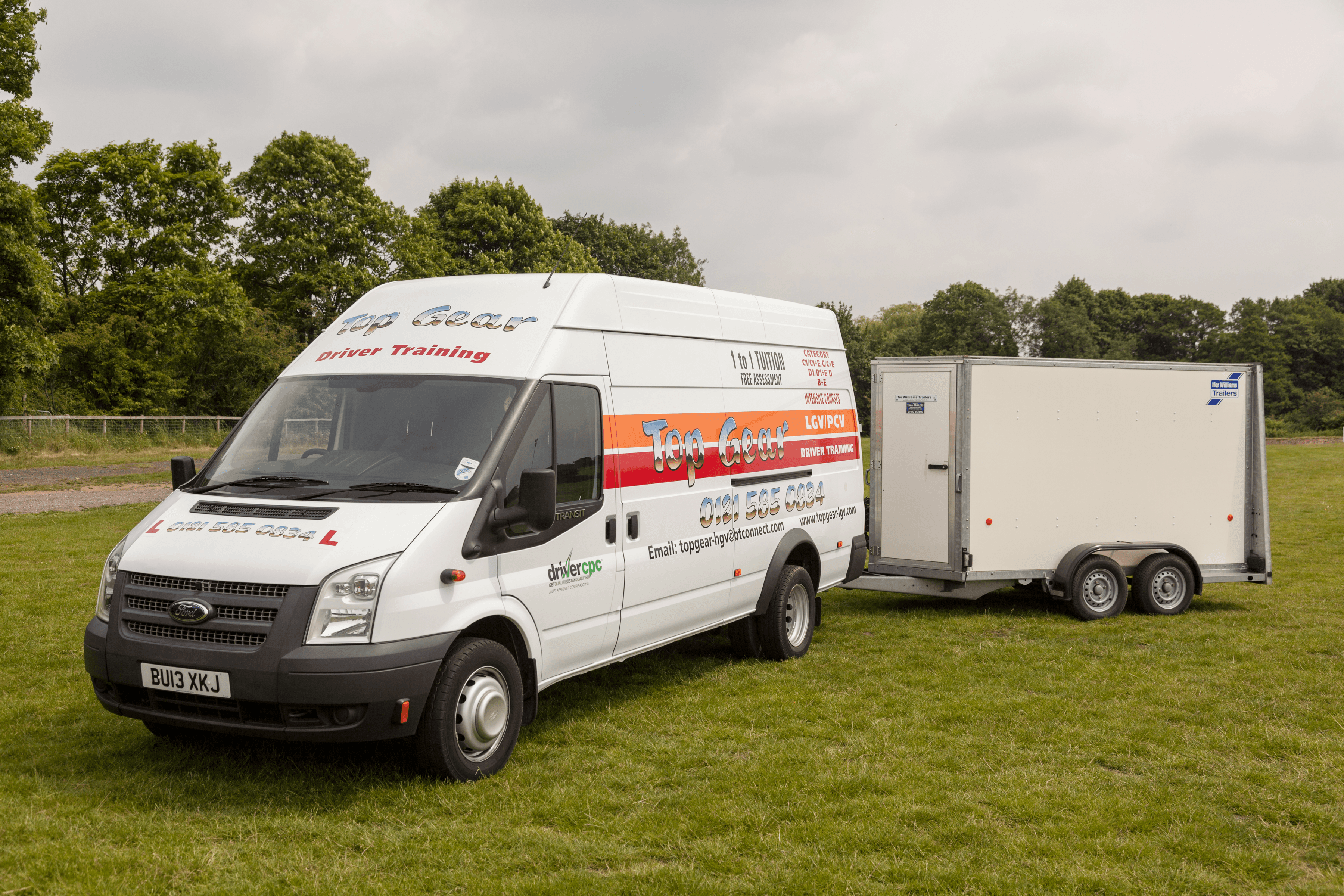Top Gear Ford Transit & tailer