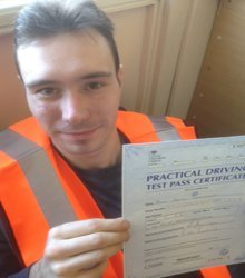 Happy newly qualified driver 11