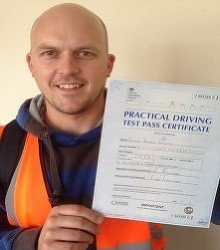 Happy newly qualified driver 7