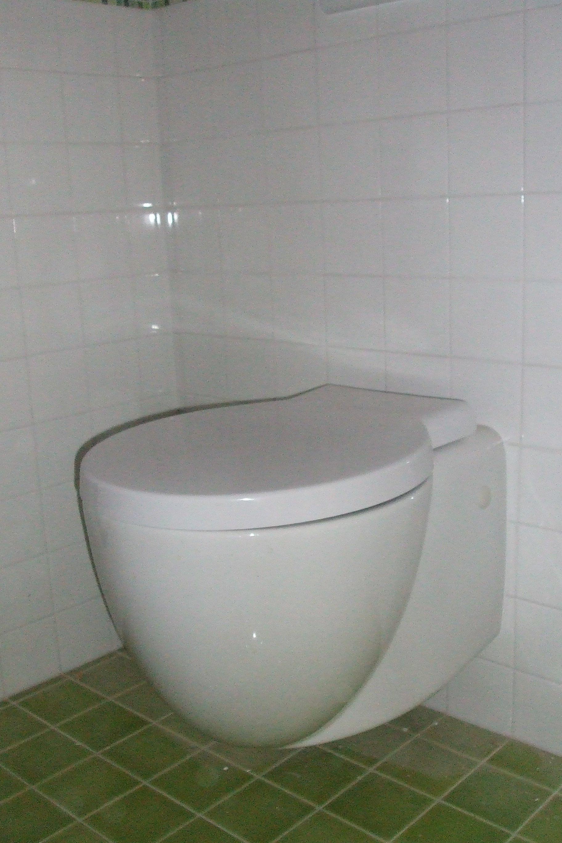 Un gabinetto bianco
