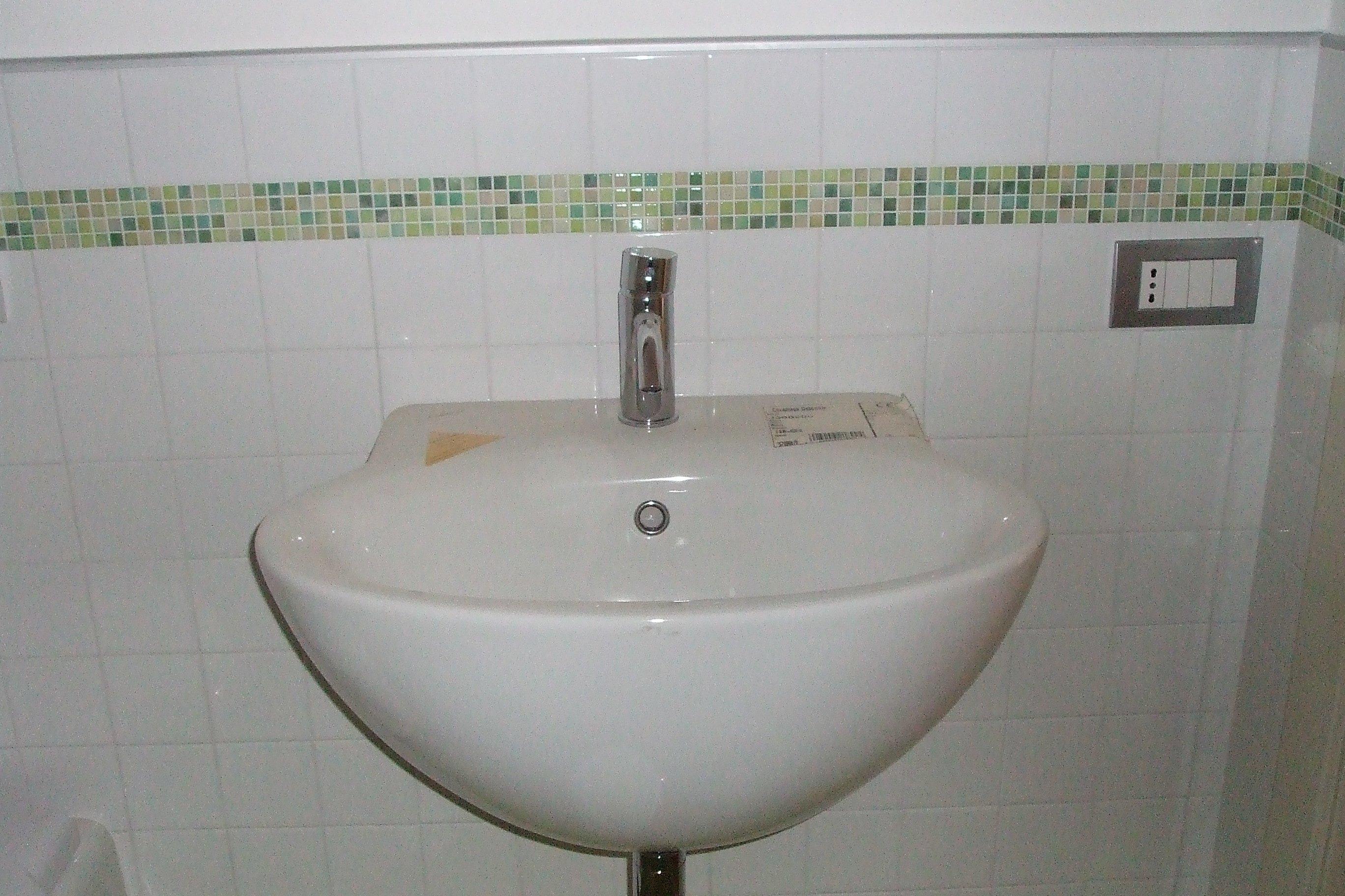 Un lavabo bianco