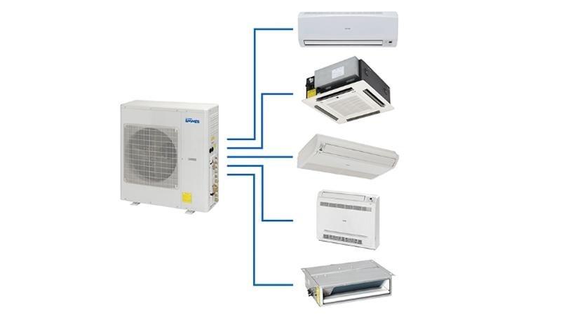 Climatizzatore Multi Inverter X-ECO Linea residenziale EMMETI