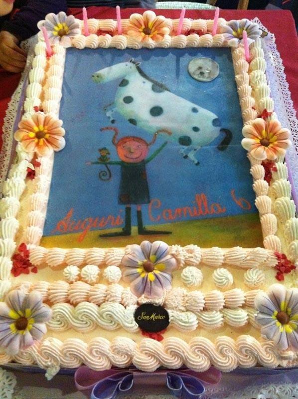 torta con foto