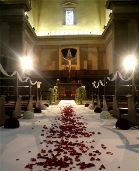 petali di rosa, rose, decorazioni floreali per matrimoni