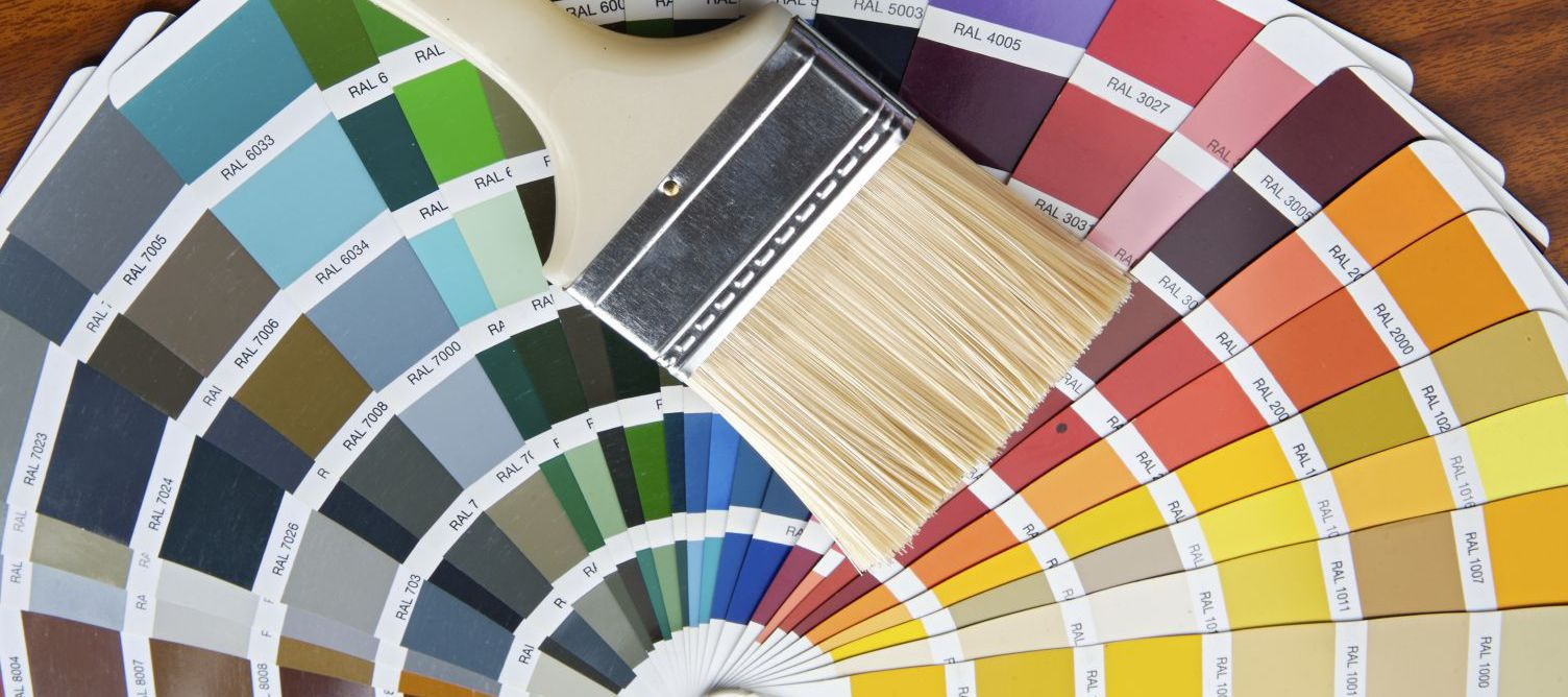 Paint swatches used for painting services in Whangarei