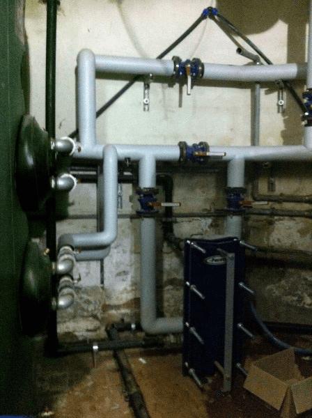 tubazione impianto idrico