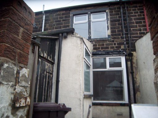 Exterior to rental property