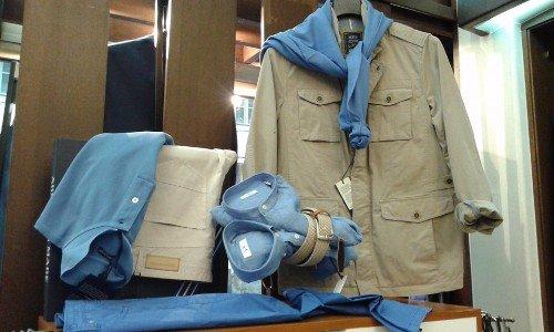 Vestiti collezione uomo da Hartnell a Torino