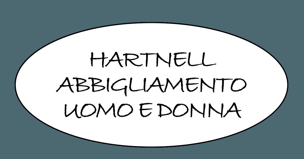 HARTNELL ABBIGLIAMENTO UOMO DONNA - LOGO