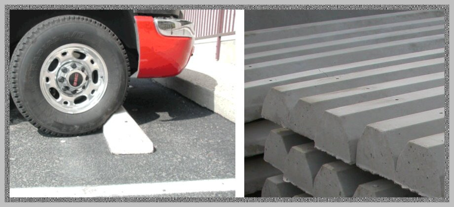 Concrete Car Stops - Houston, Dallas, San Antonio & Austin, TX