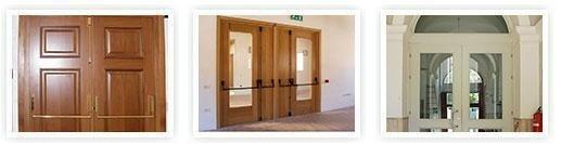 Porte tagliafuoco legno