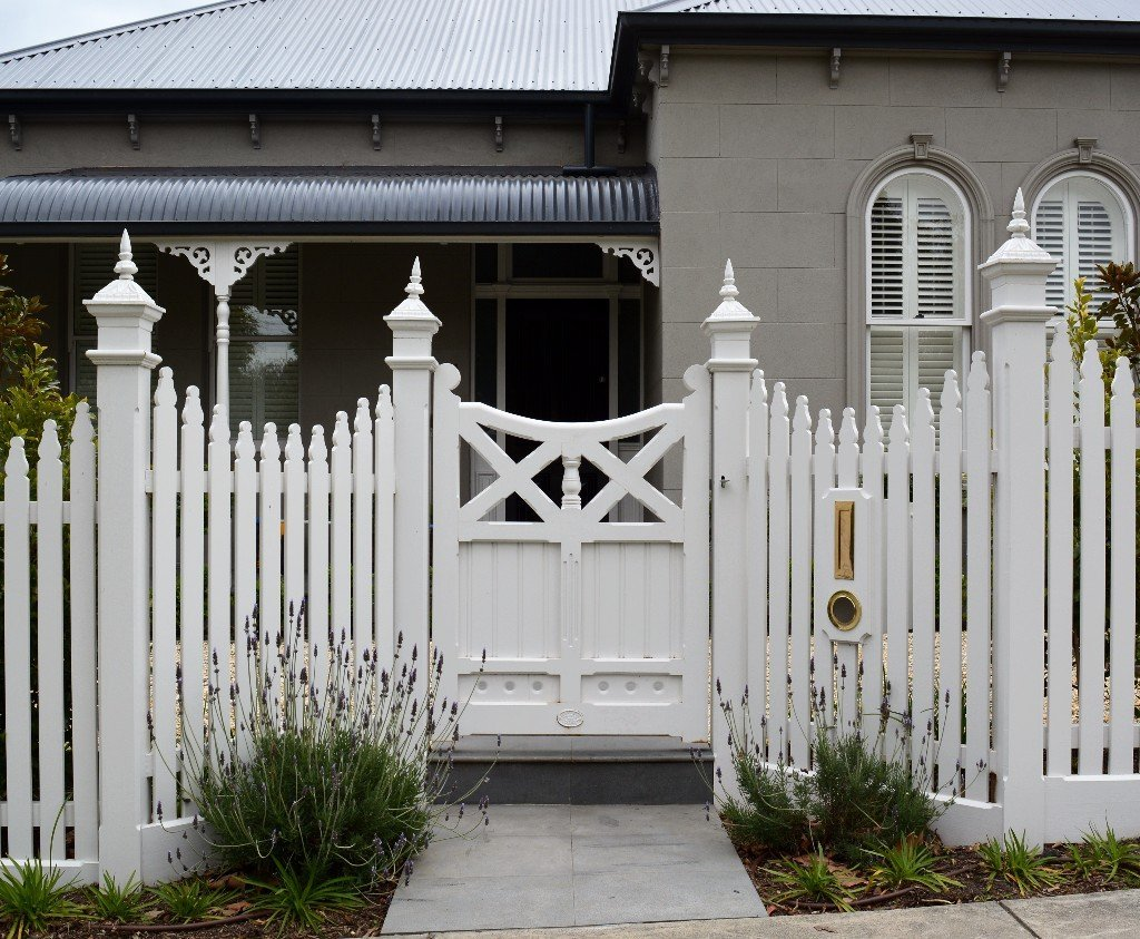 Feature Wooden Gate
