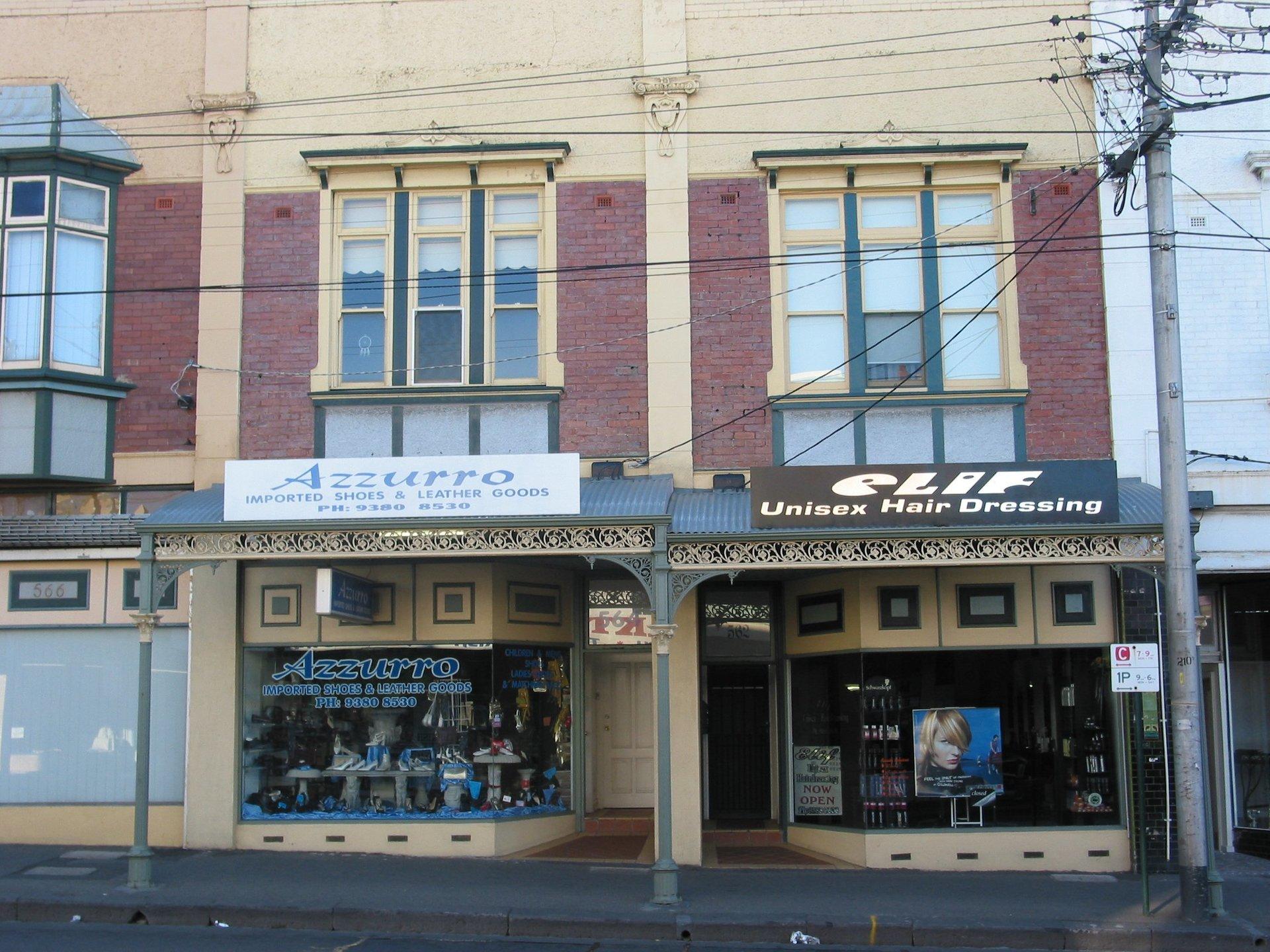 Cast iron street verandah