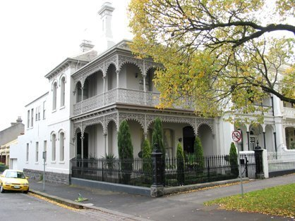 victorian style balconies
