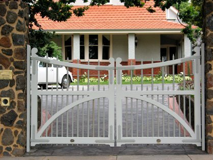 double feate garage gate