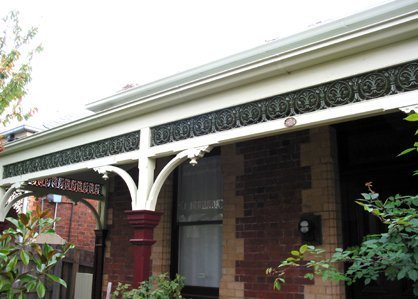 traditional style verandah