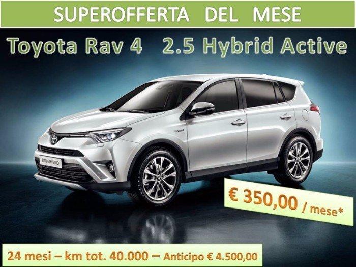 toyota rav 4 hybrida offerta