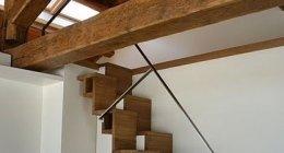 cucine su misura, armadi su misura, scale in legno