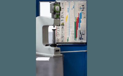 controllo precisione tornitura