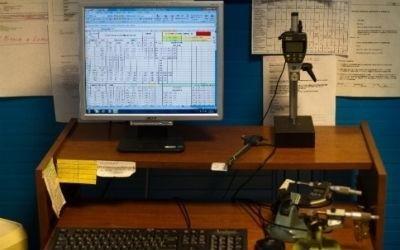 controllo computerizzato tornitura